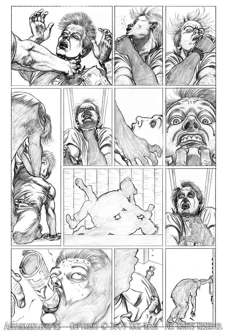The Collector page 5 pencils