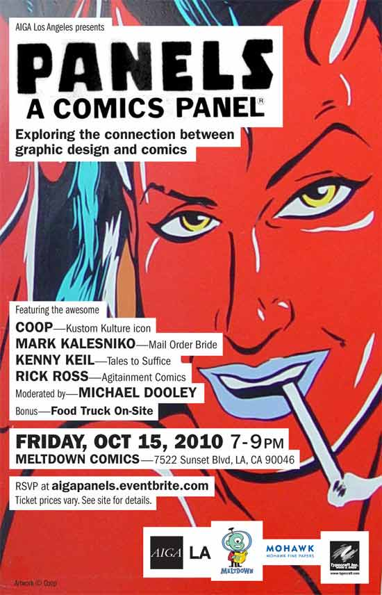 A Comics Panel: Exploring the Connection Between Comics and Graphic Design.