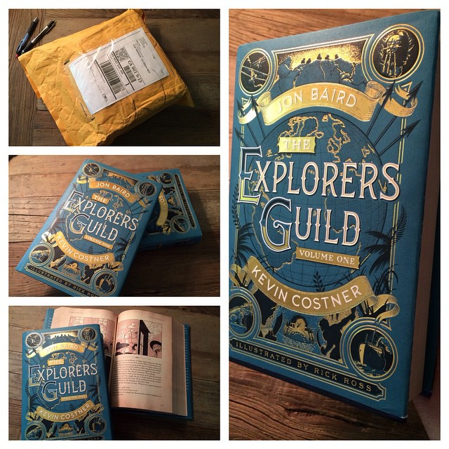 <em>The Explorers Guild</em>  Advance Copies Have Arrived