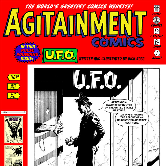 Agitainment Comics--The World's Greatest Comics Website!