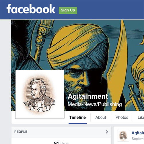 AGITAINMENT Now Has a Facebook Page
