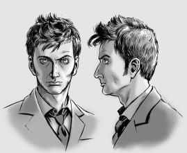 Tenth Doctor Bust - IDW Publishing