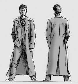 Tenth Doctor Figure - IDW Publishing