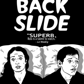 BACKSLIDE, starring Felicia Day and Jon Hershfield.