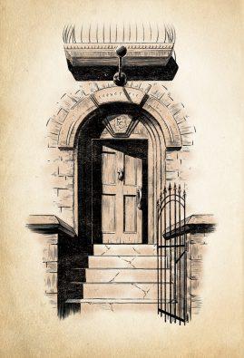 The Explorers Guild Door